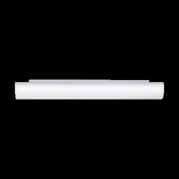 Настенный светильник Eglo Zola 83405, 3xE14x40W, белый, металл, стекло