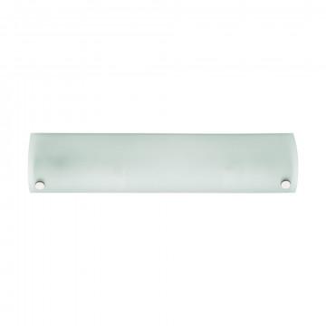 Настенный светильник Eglo Mono 85338, 2xE14x40W, хром, белый, металл, стекло