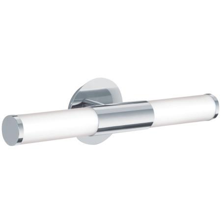 Настенный светильник Eglo Palmera 87219, IP44, 2xE14x40W, хром, белый, металл, стекло