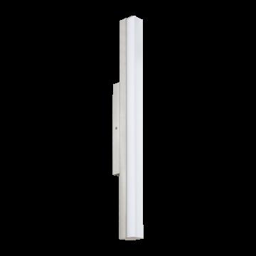 Настенный светодиодный светильник Eglo Torretta 94617, IP44, LED 16W 4000K 1500lm, никель, металл, пластик