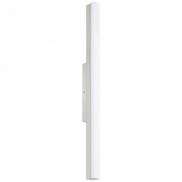 Настенный светодиодный светильник Eglo Torretta 94618, IP44, LED 24W 4000K 2200lm CRI>90, никель, металл, пластик