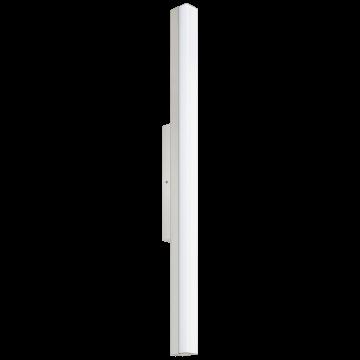 Настенный светодиодный светильник Eglo Torretta 94618, IP44, LED 24W 4000K 2200lm, никель, металл, пластик