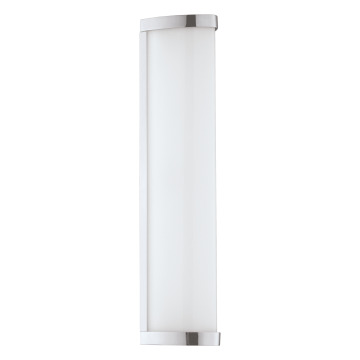 Настенный светодиодный светильник Eglo Gita 2 94712, IP44, LED 8,3W 4000K 900lm, хром, белый, металл, пластик