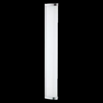Настенный светодиодный светильник Eglo Gita 2 94713, IP44, LED 16W 4000K 1700lm, хром, белый, металл, пластик