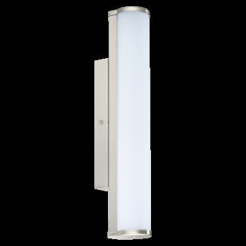Настенный светодиодный светильник Eglo Calnova 94715, IP44, LED 8W 4000K 770lm, никель, белый, металл, стекло