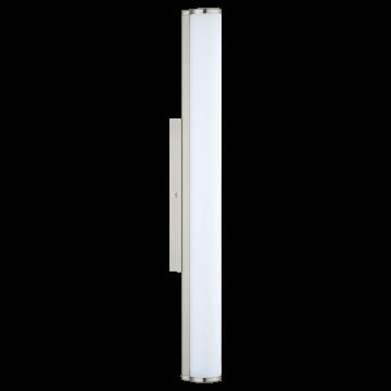 Настенный светодиодный светильник Eglo Calnova 94716, IP44, LED 16W 4000K 1500lm, никель, белый, металл, стекло