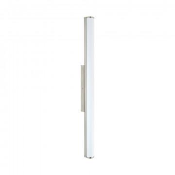 Настенный светодиодный светильник Eglo Calnova 94717, IP44, LED 24W 4000K 2200lm CRI>90, никель, белый, металл, стекло