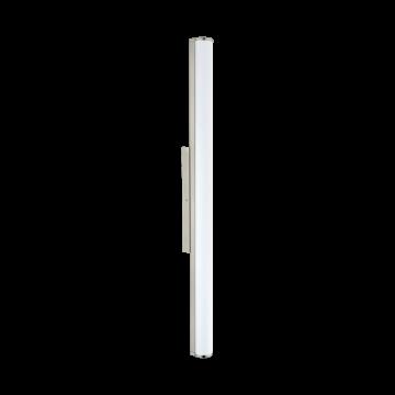 Настенный светодиодный светильник Eglo Calnova 94717, IP44, LED 24W 4000K 2200lm, никель, белый, металл, стекло