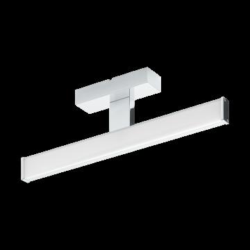 Настенный светодиодный светильник Eglo Pandella 1 96064, IP44, LED 7,4W 4000K 900lm, хром, серебро, металл, пластик