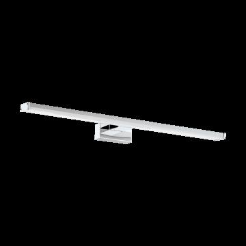 Настенный светодиодный светильник Eglo Pandella 1 96065, IP44, LED 11W 4000K 1350lm, хром, серебро, металл, пластик
