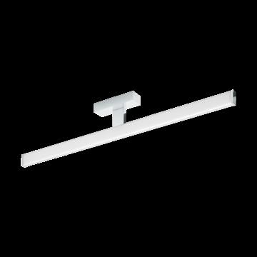 Настенный светодиодный светильник Eglo Pandella 1 96066, IP44, LED 14W 4000K 1700lm, хром, серебро, металл, пластик