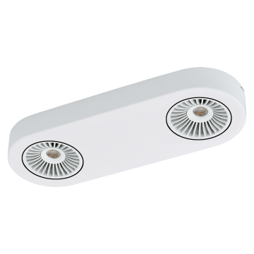 Потолочный светодиодный светильник с регулировкой направления света Eglo Montale 94176, 3000K (теплый), белый, металл