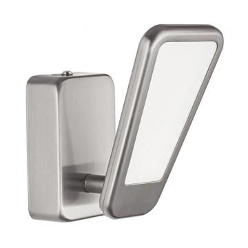 Настенный светодиодный светильник с регулировкой направления света Eglo Alcamo 95448, LED 5,4W, 3000K (теплый), никель, металл, пластик