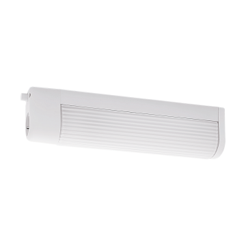 Мебельный светильник Eglo Bari 1 94987, 2xE14x25W, белый, пластик, стекло