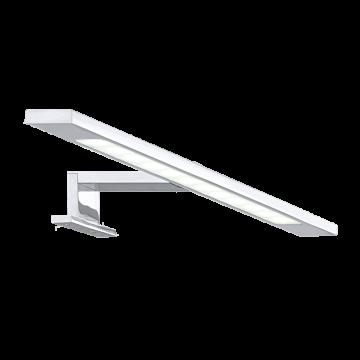 Светодиодный светильник с креплением на стену, шкаф или зеркало Eglo Imene 92095, LED 6W 4000K 520lm, хром, металл, стекло