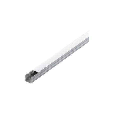 Профиль для светодиодной ленты с рассеивателем Eglo Surface Profile 2 98922, алюминий, белый, металл, пластик