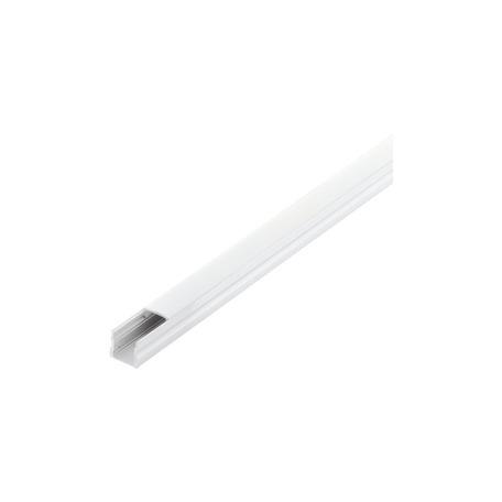 Профиль для светодиодной ленты с рассеивателем Eglo Surface Profile 2 98924, белый, металл, пластик