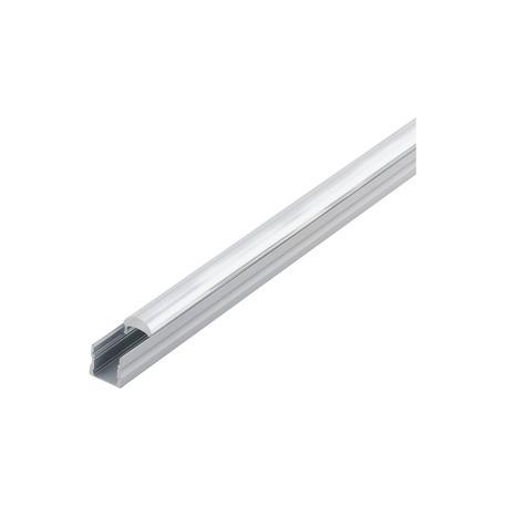 Профиль для светодиодной ленты с рассеивателем Eglo Surface Profile 3 98931, алюминий, прозрачный, металл, пластик