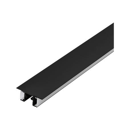 Профиль для светодиодной ленты с рассеивателем Eglo Surface Profile 4 98975, черный, белый, металл, пластик