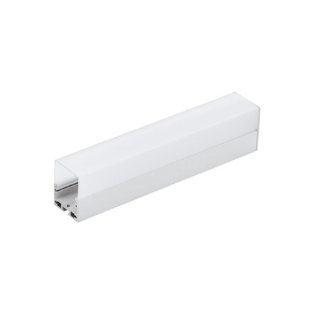 Профиль для светодиодной ленты с рассеивателем Eglo Surface Profile 6 99006, алюминий, белый, металл, пластик
