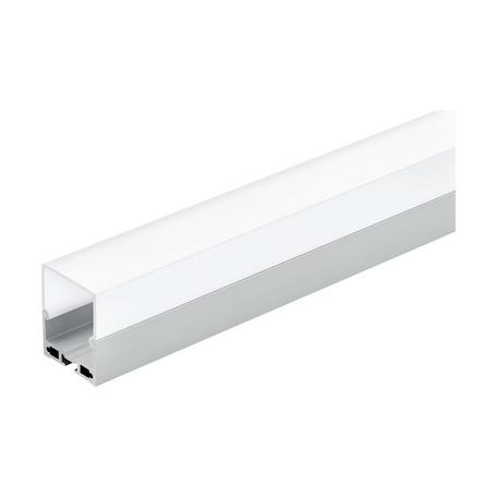 Профиль для светодиодной ленты с рассеивателем Eglo Surface Profile 6 99007, алюминий, белый, металл, пластик