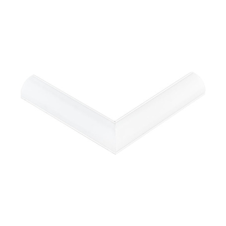 Угловой профиль для светодиодной ленты с рассеивателем Eglo Corner Profile 1 98948, белый, металл, пластик