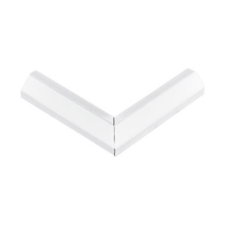 Угловой профиль для светодиодной ленты с рассеивателем Eglo Corner Profile 2 98962, белый, металл, пластик