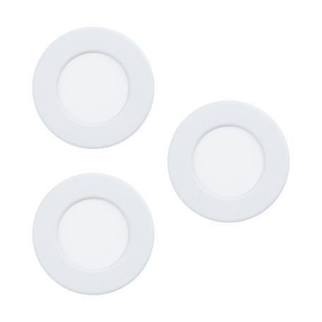 Светодиодный светильник Eglo Fueva 5 99135, LED 2,7W 3000K 300lm, белый, металл с пластиком, пластик с металлом