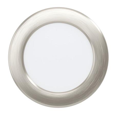 Светодиодный светильник Eglo Fueva 5 99137, LED 5,5W 3000K 650lm, никель с белым, металл с пластиком, пластик с металлом