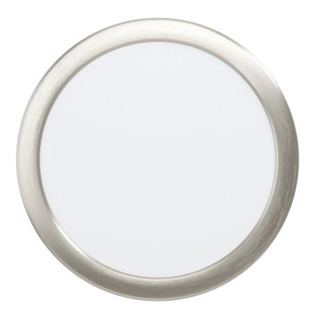 Светодиодный светильник Eglo Fueva 5 99139, LED 16,5W 3000K 1800lm, никель с белым, металл с пластиком, пластик с металлом