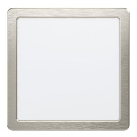Светодиодный светильник Eglo Fueva 5 99169, LED 16,5W 3000K 1800lm, никель с белым, металл с пластиком, пластик с металлом