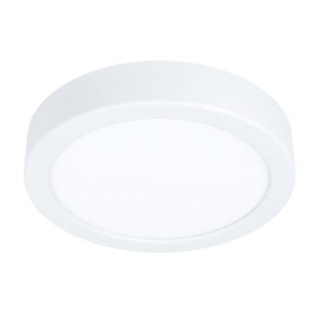 Светодиодный светильник Eglo Fueva 5 99215, LED 10,5W 3000K 1200lm, белый, металл с пластиком, пластик с металлом