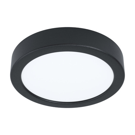 Светодиодный светильник Eglo Fueva 5 99222, LED 10,5W 3000K 1200lm, черный с белым, металл с пластиком, пластик с металлом