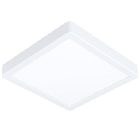 Светодиодный светильник Eglo Fueva 5 99237, LED 16,5W 3000K 1800lm, белый, металл с пластиком, пластик с металлом