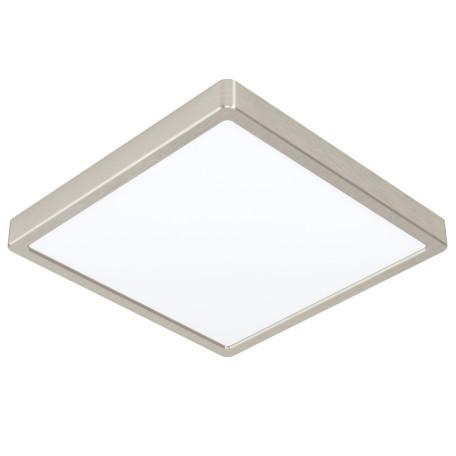 Светодиодный светильник Eglo Fueva 5 99242, LED 20W 3000K 300lm, никель с белым, металл с пластиком, пластик с металлом