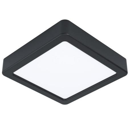Светодиодный светильник Eglo Fueva 5 99243, LED 10,5W 3000K 1200lm, черный с белым, металл с пластиком, пластик с металлом