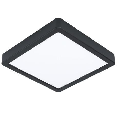 Светодиодный светильник Eglo Fueva 5 99244, LED 16,5W 3000K 1800lm, черный с белым, металл с пластиком, пластик с металлом