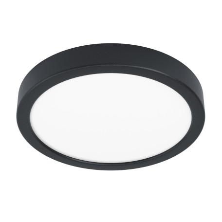 Светодиодный светильник Eglo Fueva 5 99263, LED 16,5W 3000K 1800lm, черный с белым, металл с пластиком, пластик с металлом
