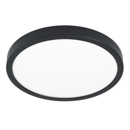 Светодиодный светильник Eglo Fueva 5 99264, LED 20W 3000K 300lm, черный с белым, металл с пластиком, пластик с металлом