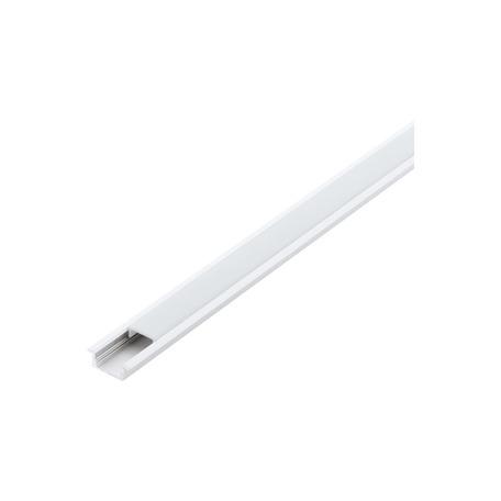 Профиль для светодиодной ленты с рассеивателем Eglo Recessed Profile 1 98982, белый, металл, пластик