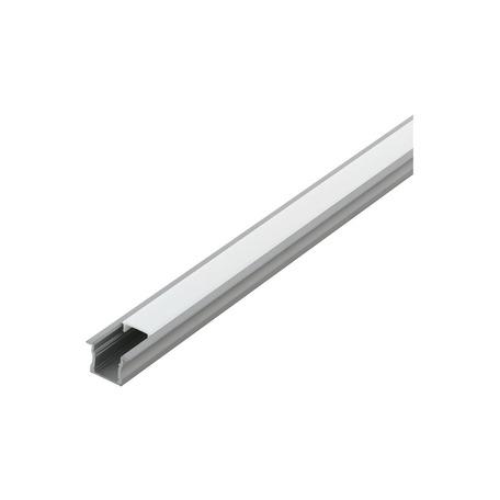 Профиль для светодиодной ленты с рассеивателем Eglo Recessed Profile 2 98987, алюминий, белый, металл, пластик