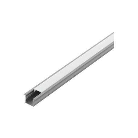 Профиль для светодиодной ленты с рассеивателем Eglo Recessed Profile 2 98988, алюминий, белый, металл, пластик