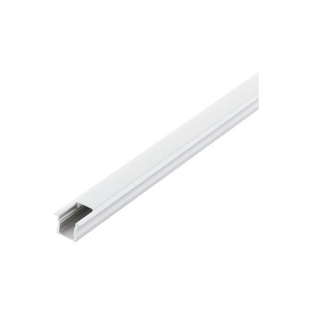 Профиль для светодиодной ленты с рассеивателем Eglo Recessed Profile 2 98992, белый, металл, пластик