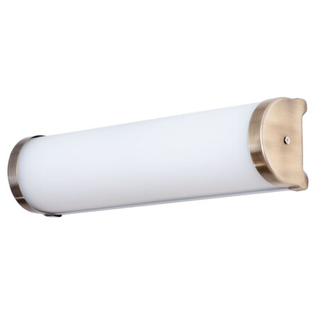 Настенный светильник Arte Lamp Aqua-Bara A5210AP-2AB, IP44, 2xE14x40W, бронза, белый, металл, стекло