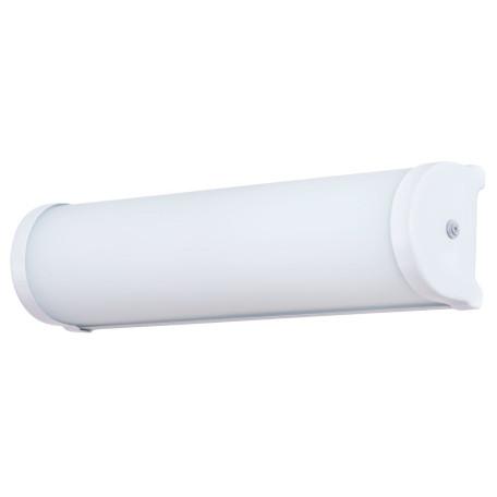 Настенный светильник Arte Lamp Aqua-Bara A5210AP-2WH, IP44, 2xE14x40W, белый, металл, стекло
