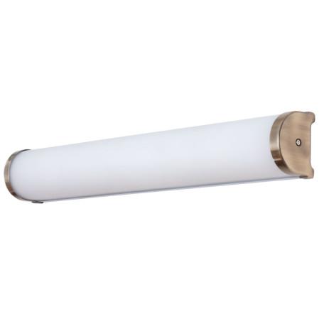 Настенный светильник Arte Lamp Aqua-Bara A5210AP-4AB, IP44, 4xE14x40W, бронза, белый, металл, стекло