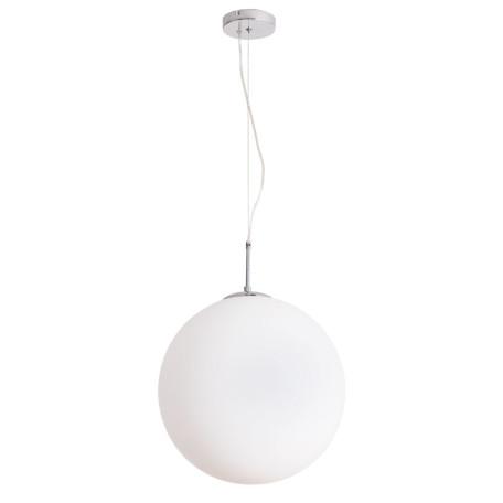 Подвесной светильник Arte Lamp Volare A1564SP-1CC, 1xE27x60W, хром, белый, металл, стекло