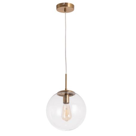 Подвесной светильник Arte Lamp Volare A1925SP-1AB, 1xE27x60W, бронза, прозрачный, металл, стекло