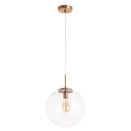 Подвесной светильник Arte Lamp Volare A1930SP-1AB, 1xE27x60W, бронза, прозрачный, металл, стекло