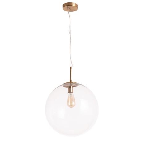 Подвесной светильник Arte Lamp Volare A1940SP-1AB, 1xE27x60W, бронза, прозрачный, металл, стекло